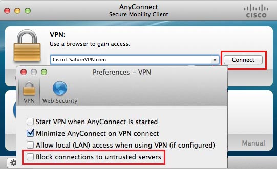 Cisco AnyConnect Secure Mobility Client 3.0.5080.0