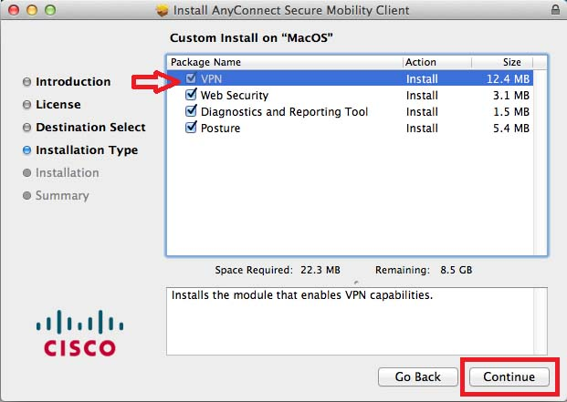 cisco ipsec client download mac