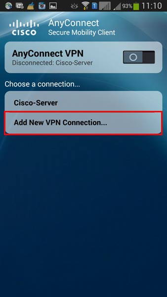 cisco anyconnect vpn for android