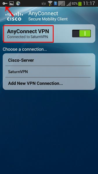 connect to cisco anyconnect vpn client android