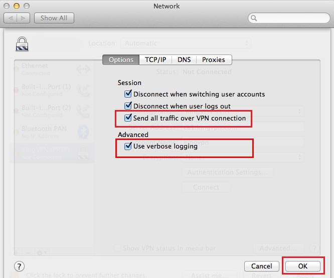 setup l2tp vpn on mac how to
