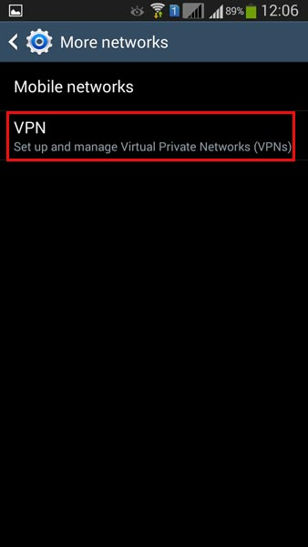 how to setup pptp vpn on android
