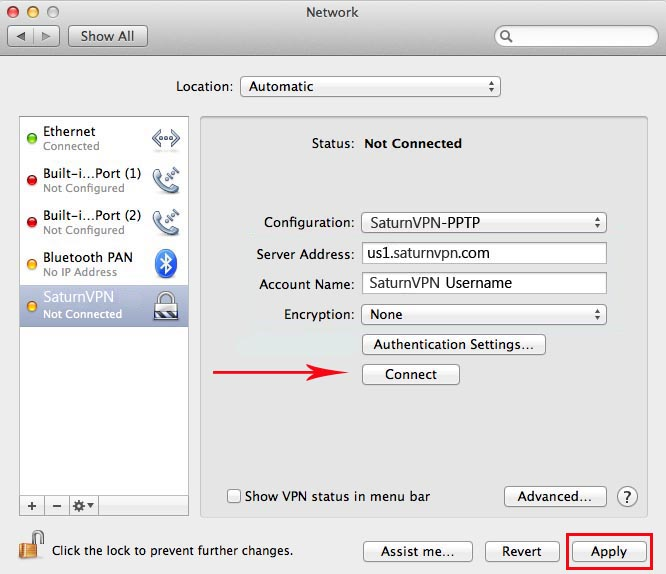 Setup a VPN server with El Capitan server 10.11