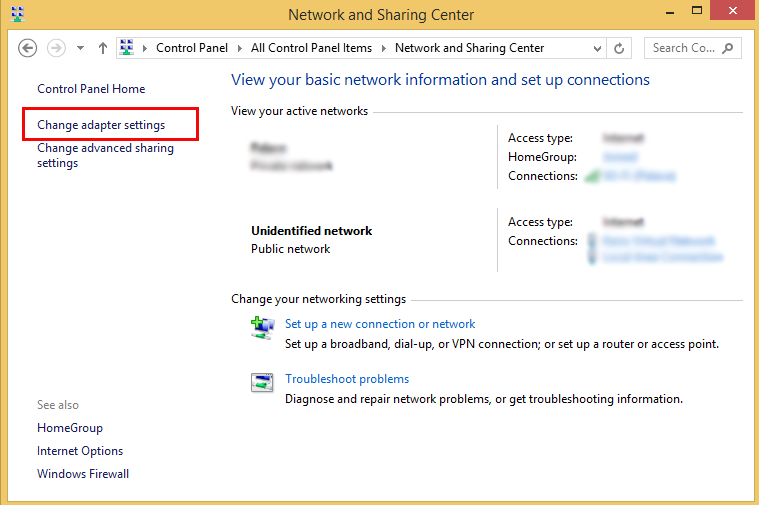 setup l2tp vpn connection on windows 8