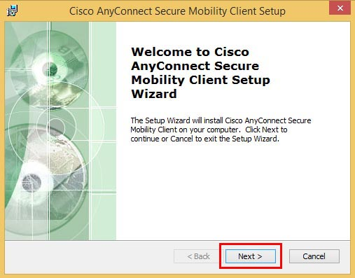 install cisco anyconnect vpn client windows 7