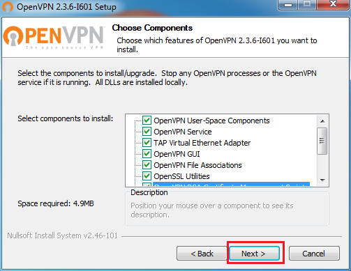 setup openvpn on windows 7