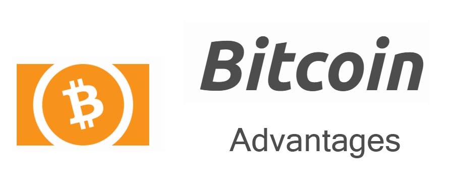 What are advantages of bitcoin