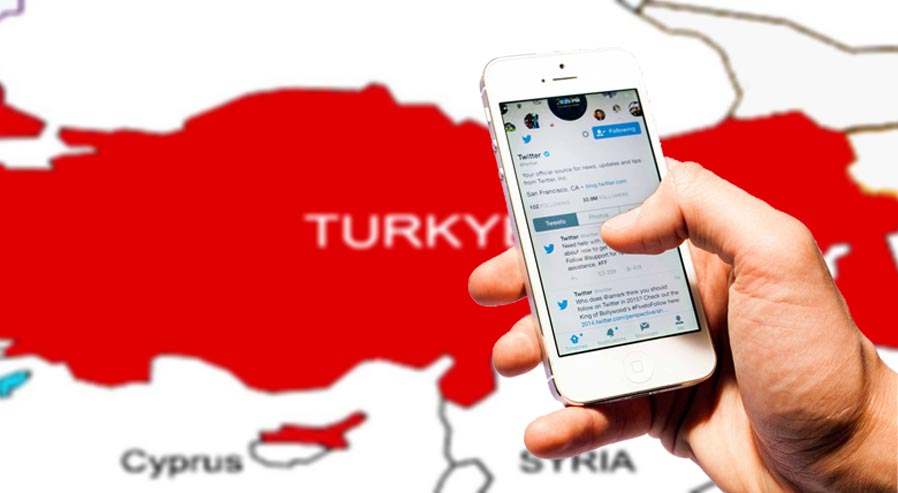 Open blocked Twitter in Turkey